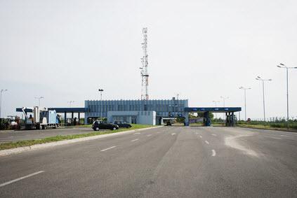 Grenspost Roemenië